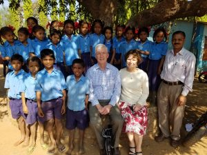 """We had an amazing visit to the """"tribal areas"""" today to speak to all the priests and nuns working with the """"tribals."""" Wonderful work in education and healthcare and evangelization."""