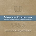Made For Relationship: A Biblical Understanding of Homosexual Behavior (CD)