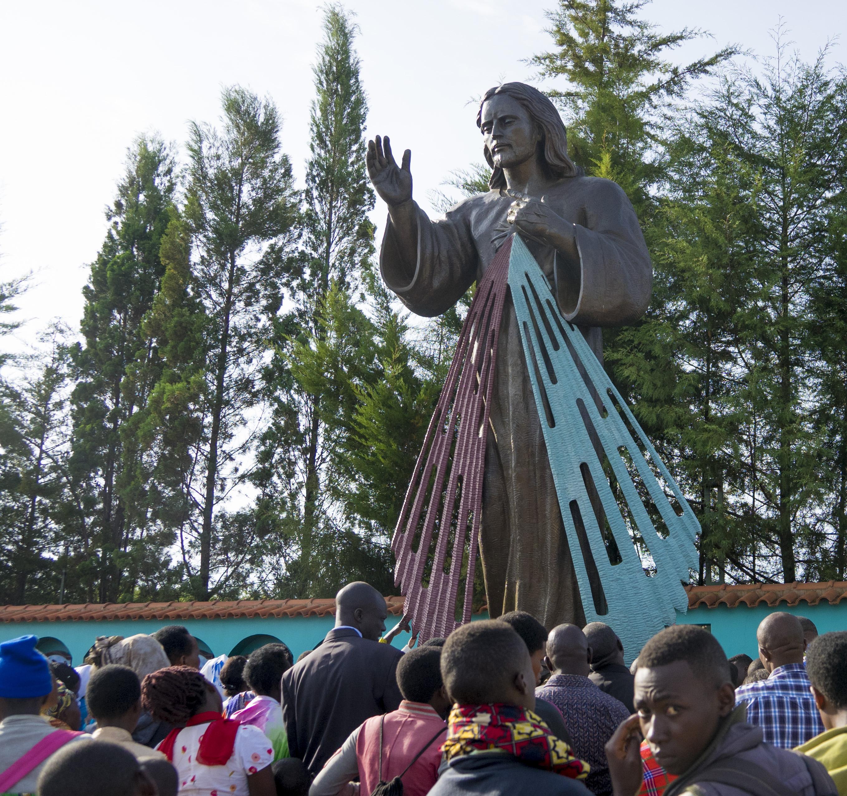 rwanda team visits our lady of kibeho  u2013 renewal ministries