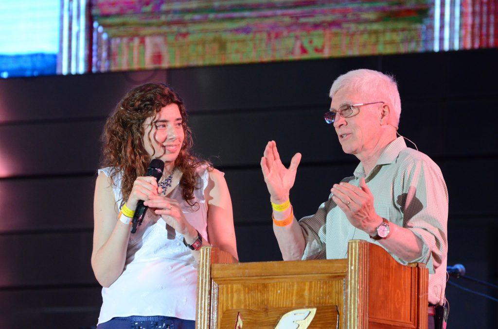 Ralph at podium 4