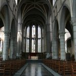 belgium church empty