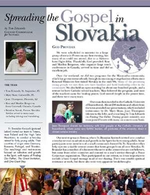 Slovakia Field Report 2016