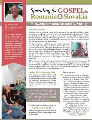 Slovakia Field Report 2017