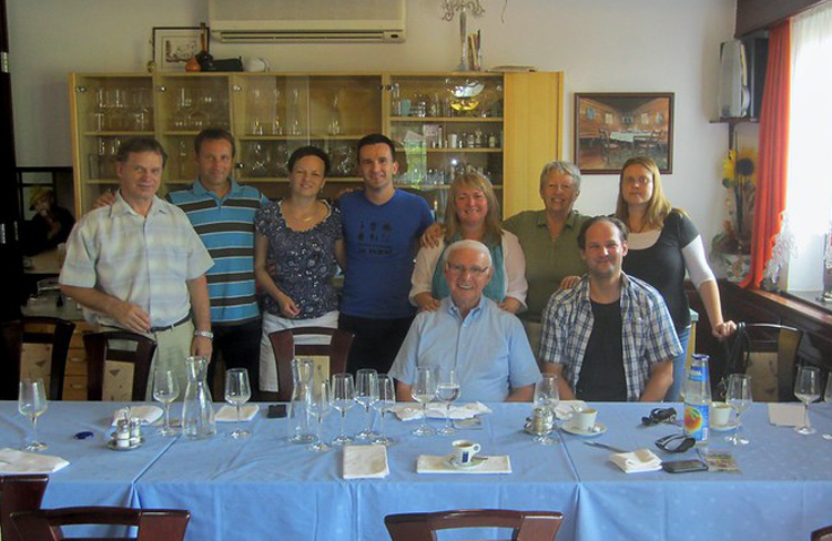 Hungary Missions Trip Attendees