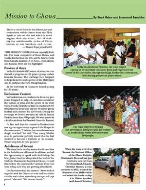 Ghana Field Report 2014 thumbnail