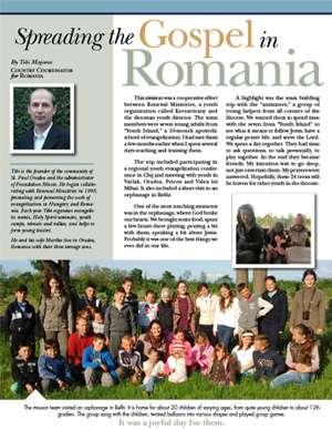 Romania Field Report 2015