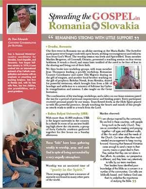 Romania Field Report 2017