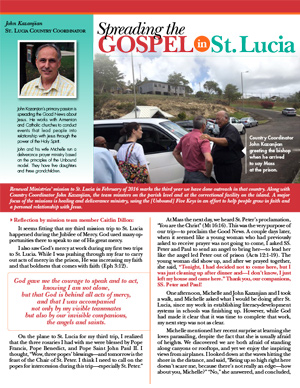 Saint Lucia Field Report 2016