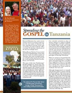Tanzania Field Report 2019