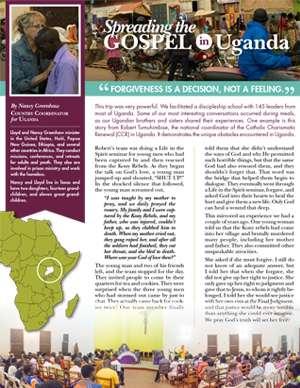Uganda Field Report 2017
