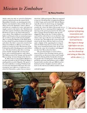 Zimbabwe Field Report 2012