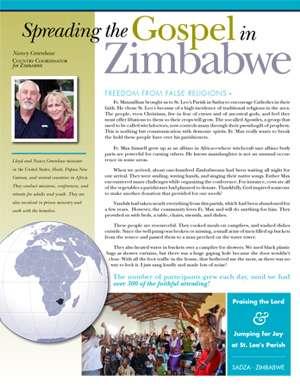 Zimbabwe Field Report 2016